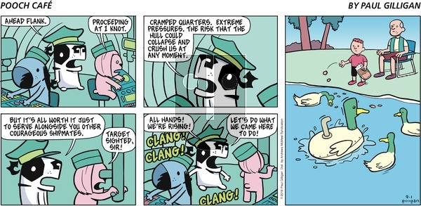 Pooch Cafe on Sunday September 1, 2019 Comic Strip