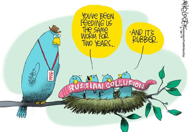 Mike Lester by Mike Lester for March 30, 2019