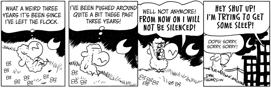 Lost Sheep Comic Strip for July 21, 2021