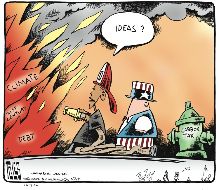 Tom Toles Comic Strip for December 09, 2012