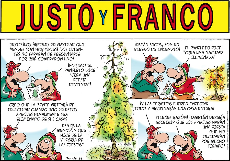 Justo y Franco by Thaves for December 02, 2018