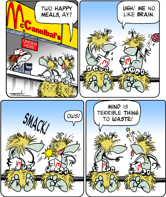 MythTickle Comic Strip for January 14, 2010