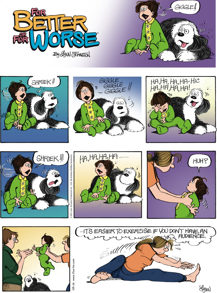 For Better or For Worse Comic Strip for May 16, 2021
