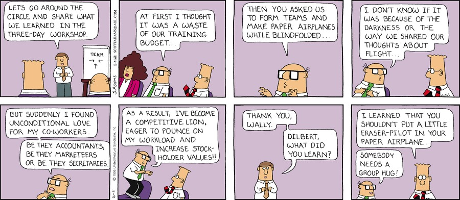 Dilbert Classics Comic Strip for May 12, 2019