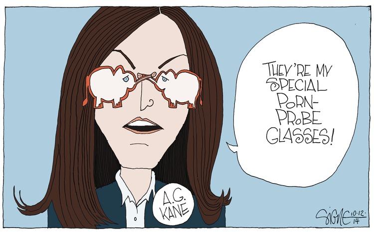 Signe Wilkinson for Oct 12, 2014 Comic Strip
