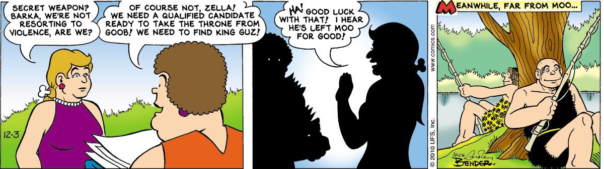 Alley Oop for Dec 3, 2010 Comic Strip