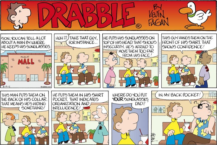 Drabble for Aug 19, 2012 Comic Strip
