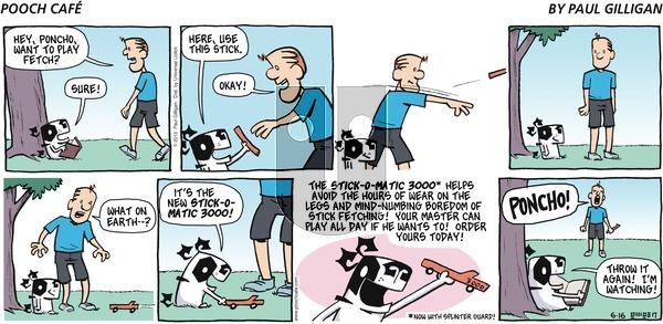 Pooch Cafe - Sunday June 16, 2013 Comic Strip