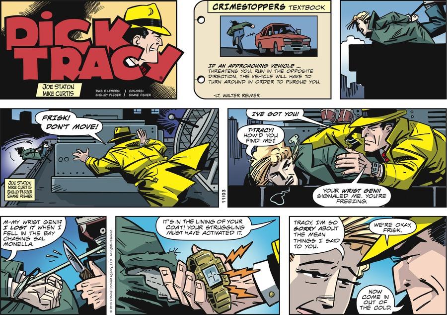 Dick Tracy Comic Strip for November 03, 2019