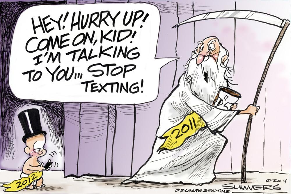 Dana Summers Comic Strip for December 28, 2011