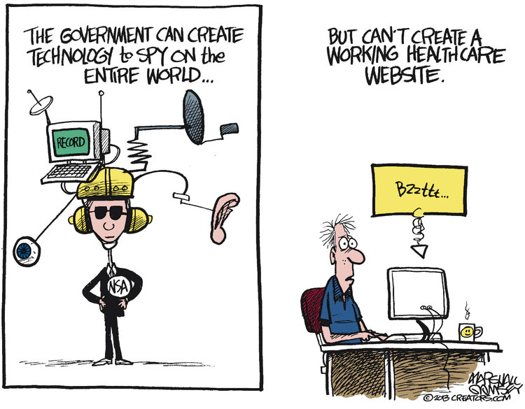 Marshall Ramsey Comic Strip for October 28, 2013