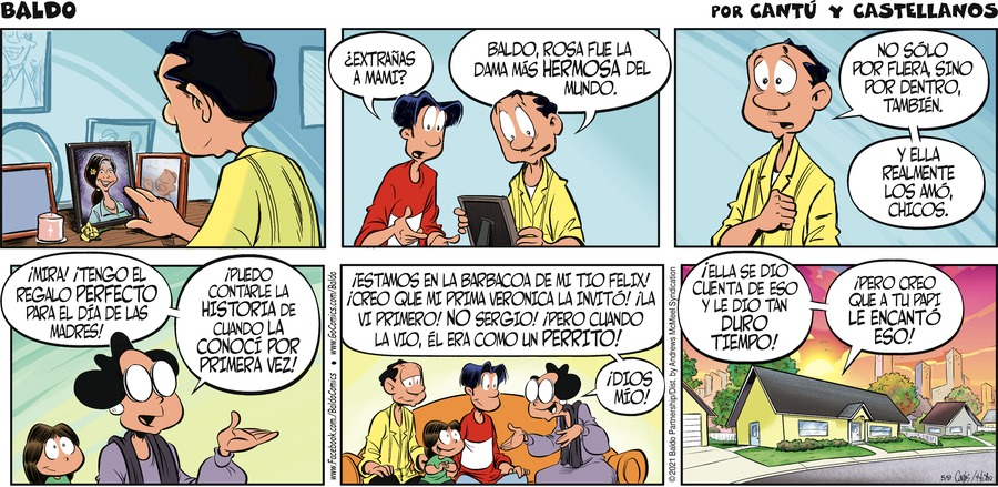 Baldo en Español by Hector D. Cantú and Carlos Castellanos on Sun, 09 May 2021