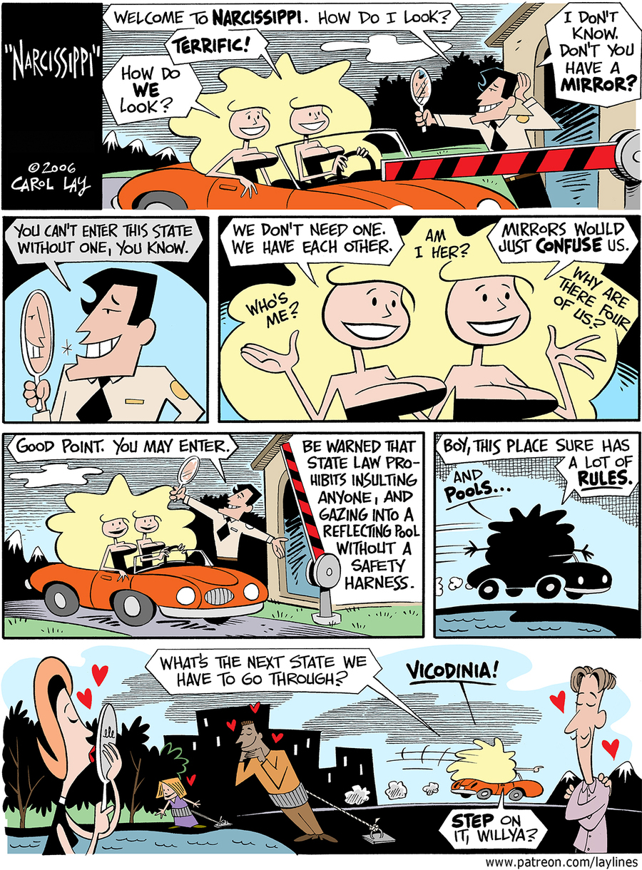 Lay Lines Comic Strip for November 17, 2017