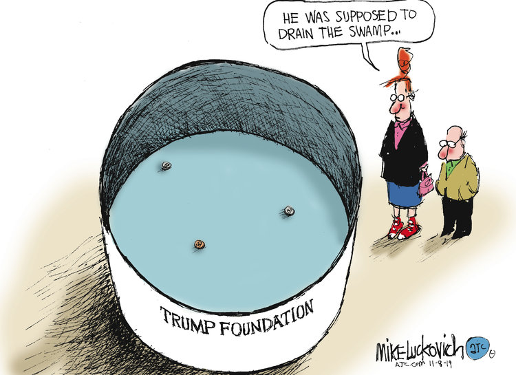 Mike Luckovich Comic Strip for November 08, 2019