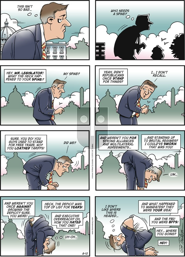 Doonesbury - Sunday August 12, 2018 Comic Strip