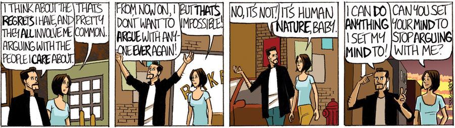 Beardo for Nov 23, 2012 Comic Strip