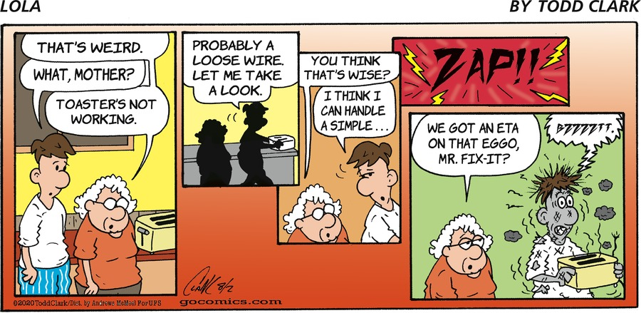 Lola Comic Strip for August 02, 2020