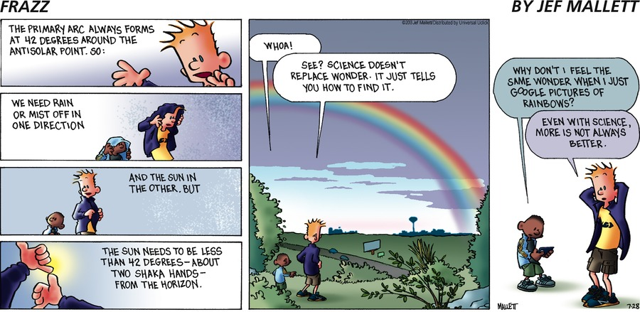 Frazz Comic Strip for July 28, 2013
