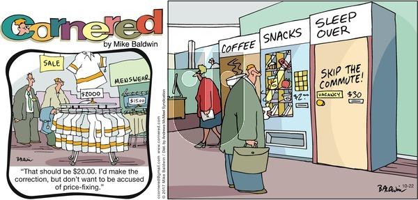 Cornered on Sunday October 22, 2017 Comic Strip