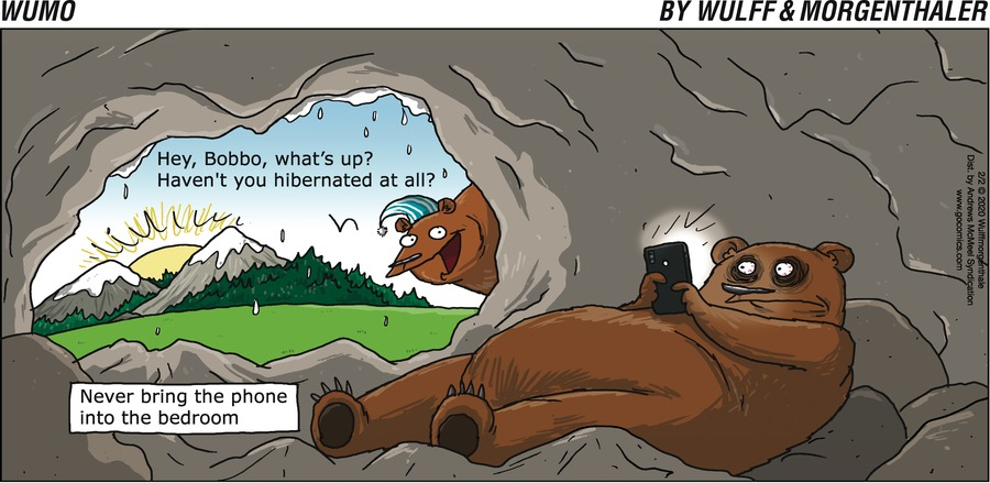 WuMo Comic Strip for February 02, 2020