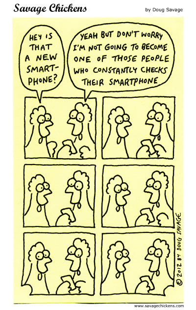 Savage Chickens Comic Strip for August 05, 2016