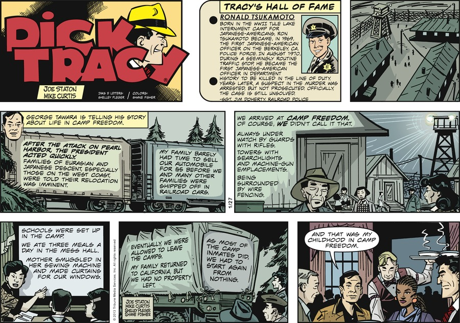 Dick Tracy for Jan 27, 2013 Comic Strip