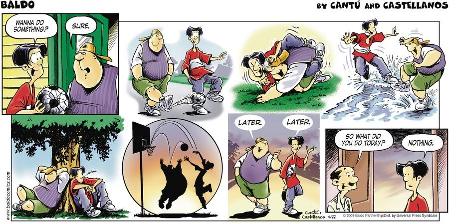 Baldo for Apr 22, 2001 Comic Strip