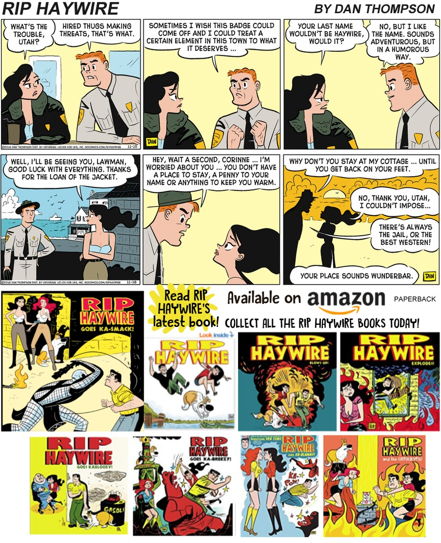 Rip Haywire Comic Strip for December 29, 2019