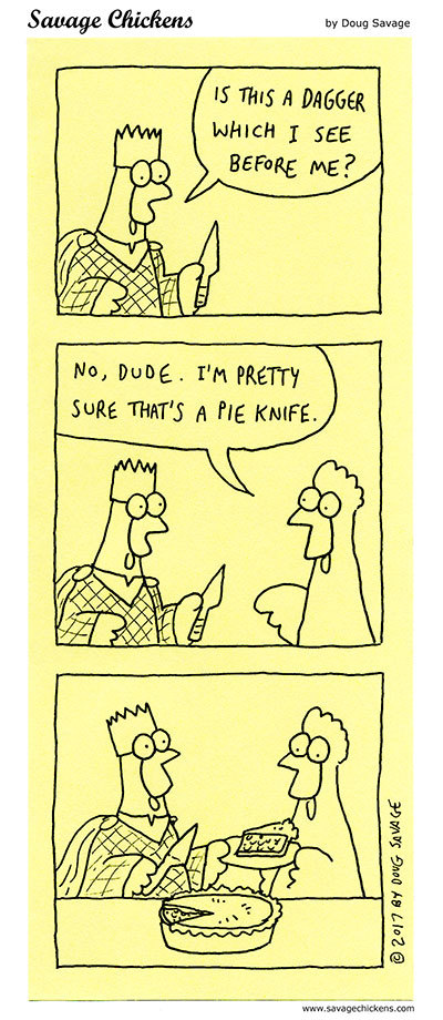Savage Chickens by Doug Savage on Tue, 11 May 2021