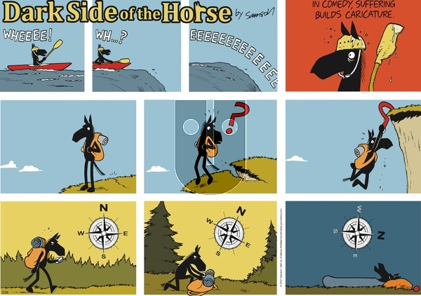 Dark Side of the Horse - Sunday February 28, 2021 Comic Strip