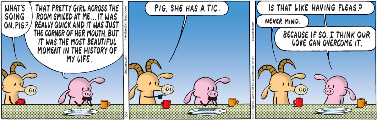 Pearls Before Swine Comic Strip for October 29, 2011