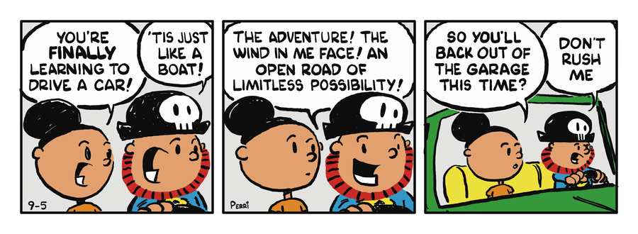 Pirate Mike Comic Strip for February 27, 2019