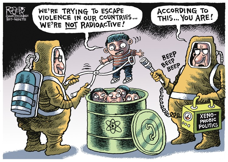 Rob Rogers Comic Strip for July 27, 2014