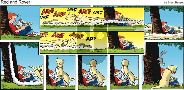 Red and Rover on Sunday June 11, 2017 Comic Strip