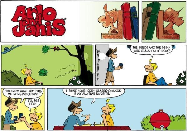 Arlo and Janis - Sunday April 19, 2009 Comic Strip