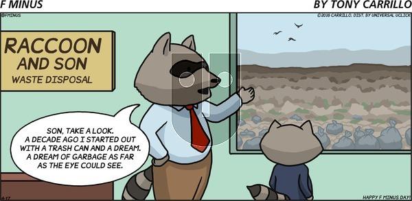 F Minus on Sunday April 17, 2016 Comic Strip