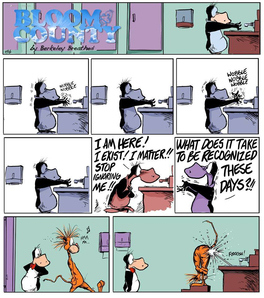 Bloom County 2019 by Berkeley Breathed for August 20, 2019