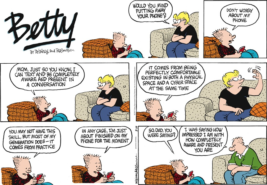 Betty Comic Strip for May 14, 2017