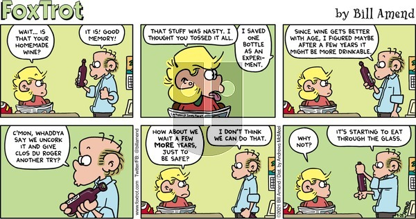 FoxTrot on Sunday April 25, 2021 Comic Strip