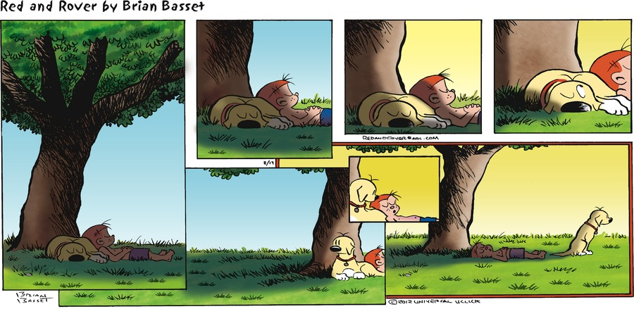 Red and Rover Comic Strip for August 19, 2012