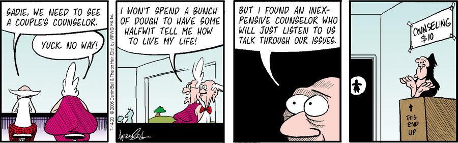 Rudy Park Comic Strip for July 14, 2020