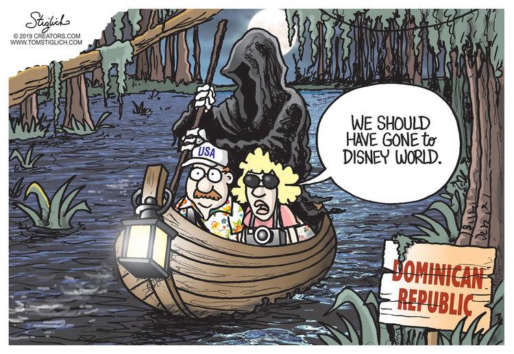 Tom Stiglich Comic Strip for June 19, 2019