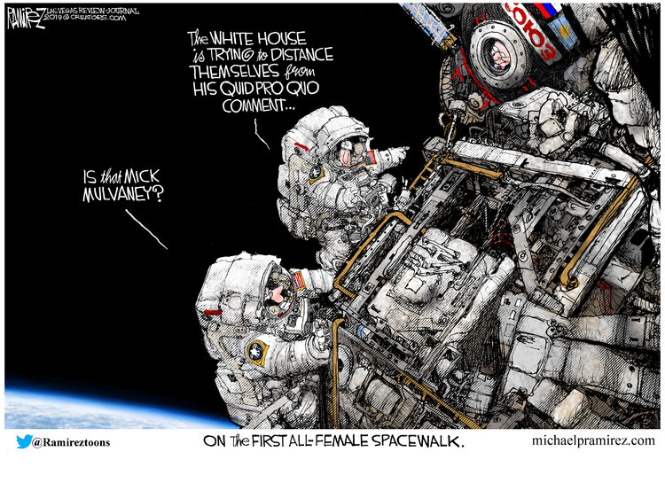 Michael Ramirez Comic Strip for October 20, 2019