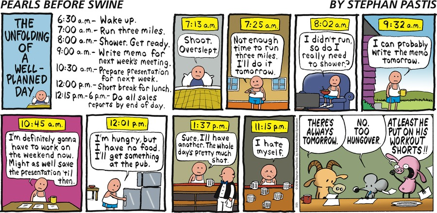 Pearls Before Swine Comic Strip for March 25, 2018