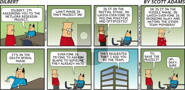 Dilbert on Sunday December 13, 2020 Comic Strip