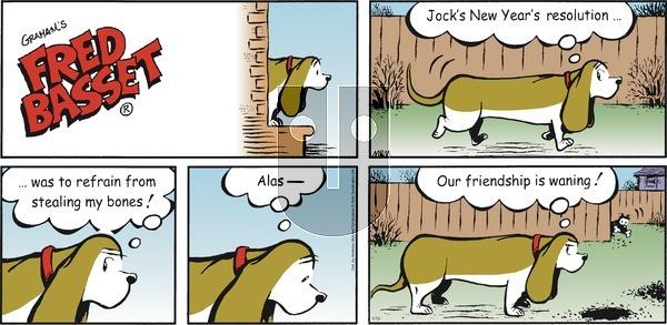Fred Basset on Sunday January 10, 2021 Comic Strip