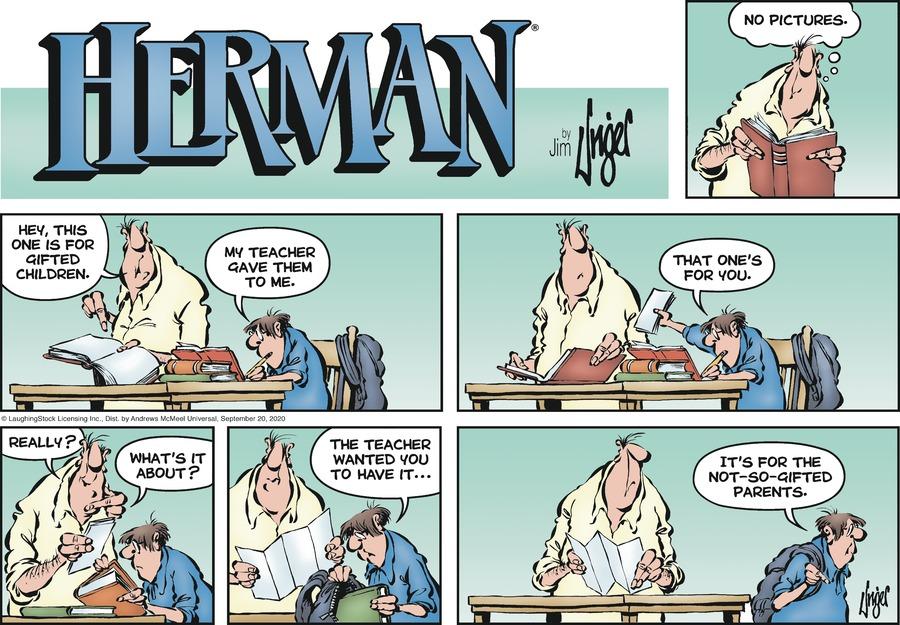 Herman Comic Strip for September 20, 2020