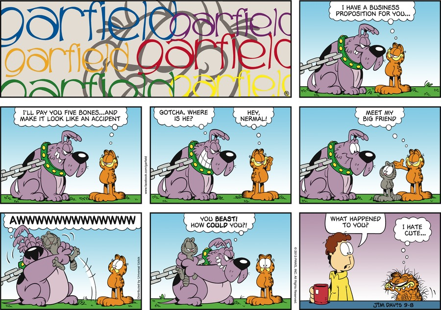 Garfield Comic Strip for September 08, 2013