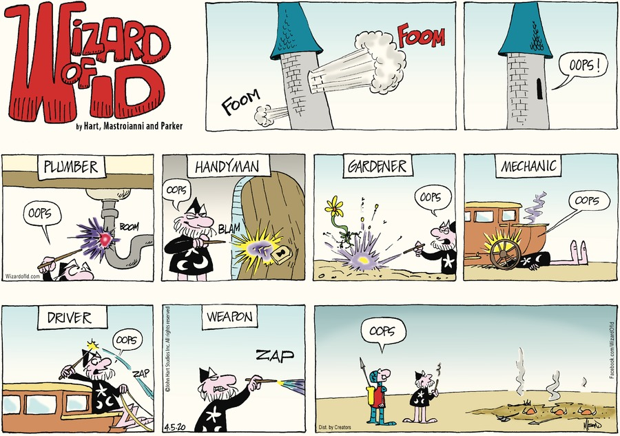 Wizard of Id Comic Strip for April 05, 2020