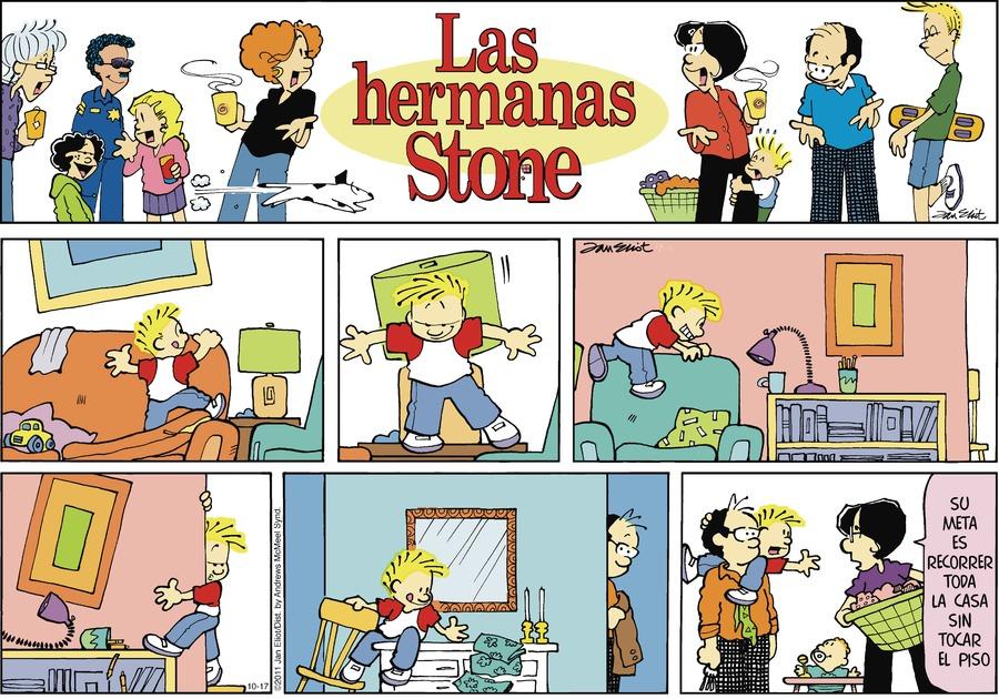 Las Hermanas Stone by Jan Eliot on Sun, 17 Oct 2021